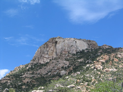 Granite mountain peak