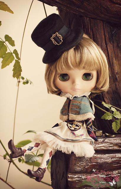 A Blythe a day 240: I like her green eyes.