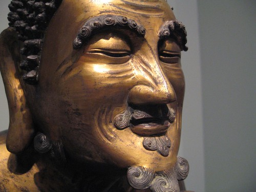 Statue in the Asian Art Museum, San Francisco