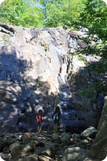 Lusk Falls trail Gatineau