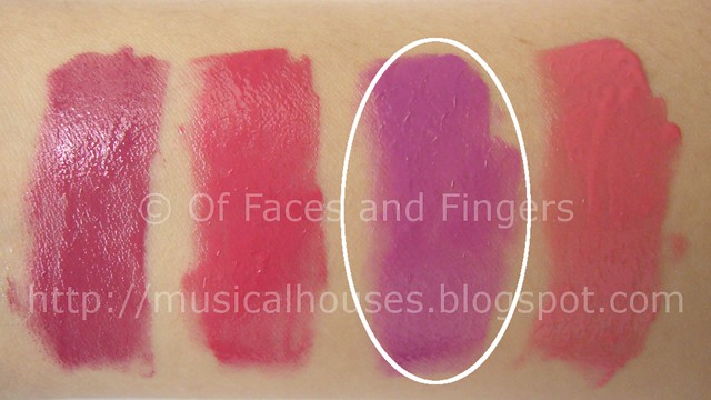Sleek Pout Polish wearable purple lip