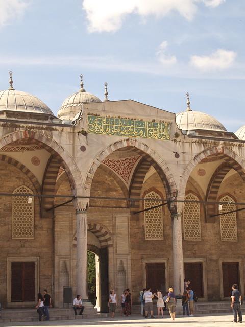 藍色清真寺的內門