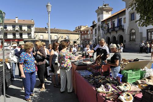 El número de expositores ha aumentado, así como la variedad de lo expuesto. foto Pedro Merino