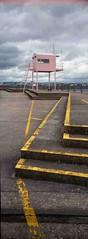 The Lookout (Paul Wagstaff) Tags: cardiff lookout fujifilm cardiffbay barrage panoramiccamera cardiffbaybarrage