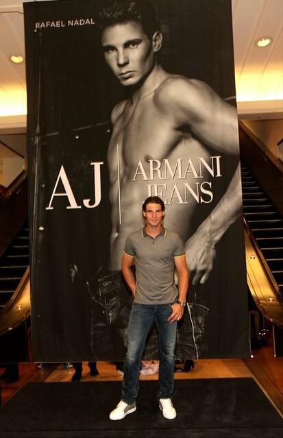 Nadal Fall/Winter Armani campaign