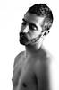 (Damien Cox) Tags: uk gay portrait blackandwhite bw selfportrait man male me self ego myself beard mono nikon masculine moi homo homosexual queer scruff stubble i damiencox dcoxphotographycom