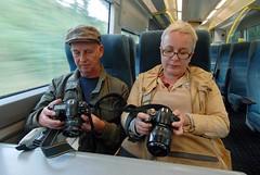 A couple of Chimpers (McTumshie) Tags: geotagged sussex unitedkingdom gbr eridge croydonphotoblitz ©andrewsmith2011 dayouttotunbridgewells geo:lat=5109556173 geo:lon=018738717 27august2011