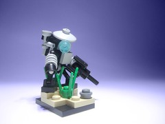 PYN3BOT (jestin pern) Tags: set robot gun pieces with lego little small dirt bitch fi 27 equals sci mecha anything bot bamf mech impulse apocalego