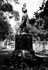 Women of Glenwood Cemetery, Houston, Texas 0827111541BW (Patrick Feller) Tags: glenwood cemetery washington avenue ave houston harris county texas sculpture statue gravestone grave marble stone carved marker united states north america