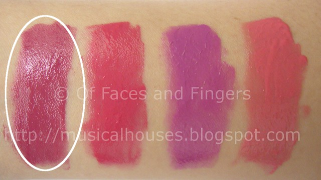 sleek pout paints mauve rose swatch