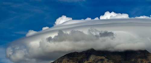 UFO over Table Mountain