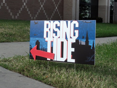 Rising Tide Sign