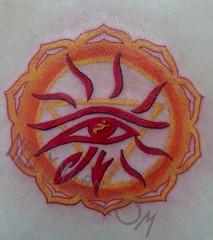SUNSH (nelly.tattoo) Tags: tattoo suntattoo shakra eyetattoo