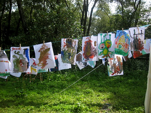 just so festival painting washing line
