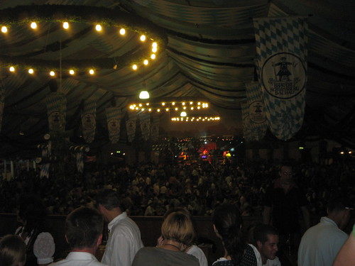 Munich - Dancing at the Beer Festival