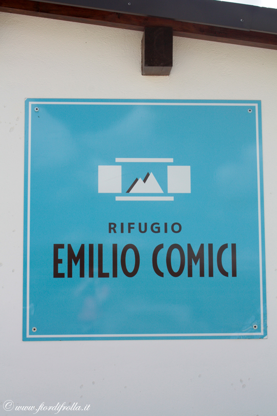 Rifugio Comici - Insegna