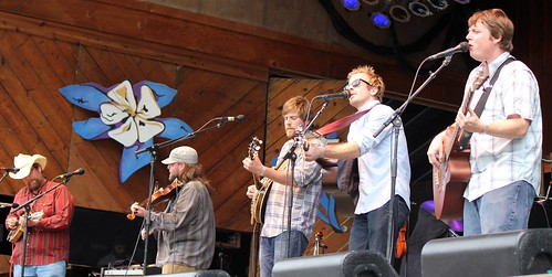Trampled by Turtles side<br />