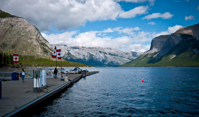 Lago Minnewanka, Banff