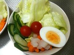 朝食サラダ(2011/9/2)