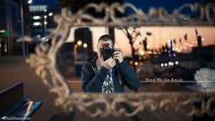 Here We Go Again (Rick Nunn) Tags: sunset me self project 50mm mirror time bokeh rick location reflect hoody 50 nunn fifty ef50mmf14usm strobist photospecs anyforty fiftyoffifty
