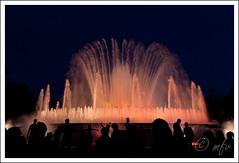 Barcellona - Font Magica del Montjuic 4 (86qwerty) Tags: plaza luci fontana barcellona magica espanya 450d tamron175028