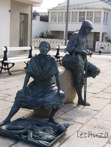 San Cibrao-estatua otra