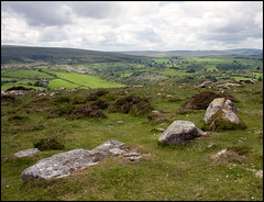 Dartmoor, May (recursion_see_recursion) Tags: stones diagonal devon dartmoor
