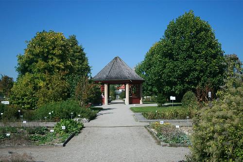 Pavillon Systemgarten - Botanischer Garten München
