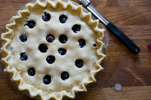 Fresh Grape Pie