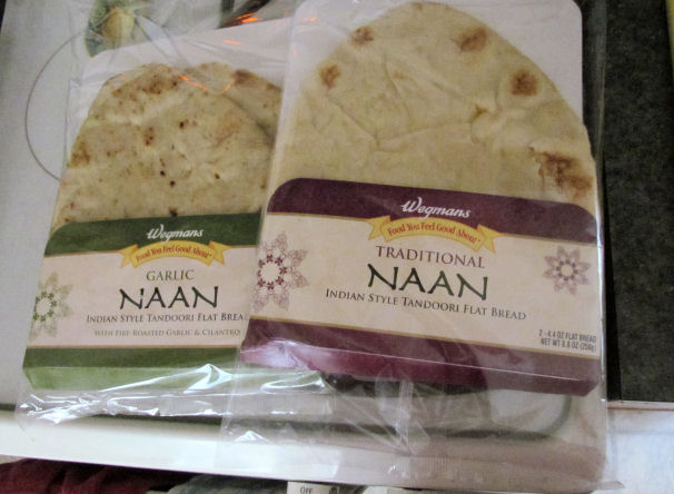 Naan for Pizza Crust