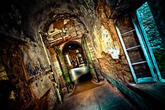 Forsaken (Sky Noir) Tags: abandoned philadelphia dark state landmark historic haunted creepy prison jail philly forsaken eastern esp hdr penitentiary bybilldickinsonskynoircom