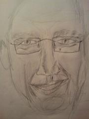 Me pencil (pepemczolz) Tags: portrait art me face pen pencil glasses sketch head drawing prototype practice flickroid
