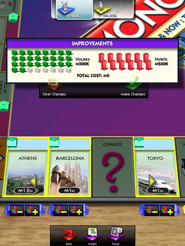 Monopoly - huizen plaatsen
