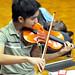 Violinist Juius Fuentes.