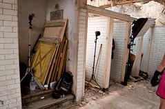Setup Shot (Photosmudger) Tags: lighting photoshop model nikon flash setup fitness toilets kickboxing strobe lightroom strobist d700 d300s