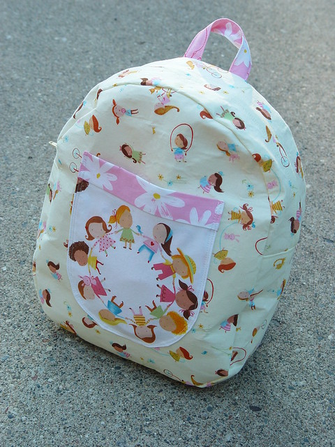 Girl Backpack, view 1