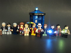 The Eleven Doctors (billbobful) Tags: 2 two 6 3 four one 1 three lego 1st who 10 5 five dr 4 nine 4th first 7 8 9 11 2nd doctor seven ten second third ninth 10th 11th seventh 9th fourth six sixth 5th 7th eleven eight 3rd 8th 6th fifth eighth tenth eleventh