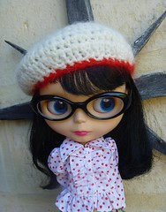 Tigerlily trying an Intellectual Look!!!