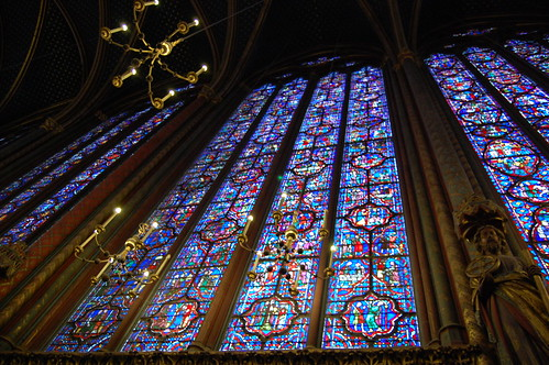 Inside Sainte Chapelle