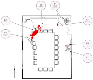 Flickriver Photoset Crime Scene Sketches By Mr Shultz S Forensics Class