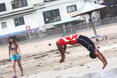 Shirahama. on the surf V