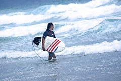 Shirahama. on the surf   番外 II