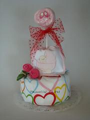 torte-di-pannolini (torte di pannolini PANNOLINI CAKES) Tags: birthday boy baby girl socks spoon di torta babyshower onesie torte bibs diapercakes cupckaes pannolini nappycakes tortedipannolini