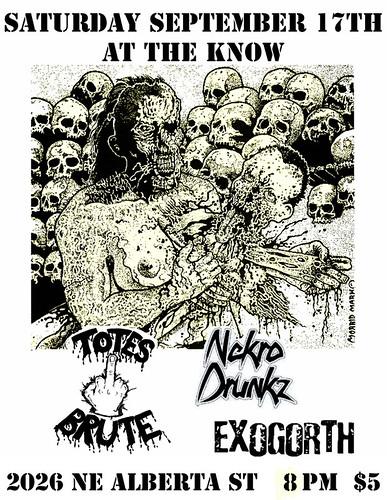 9/17/11 TotesBrute/NekroDrunkz/Exogorth