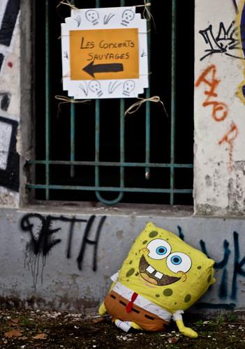 Sponge Bob is lost