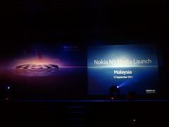 At Nokia N9 Media Launch in Malaysia. #MeeGo