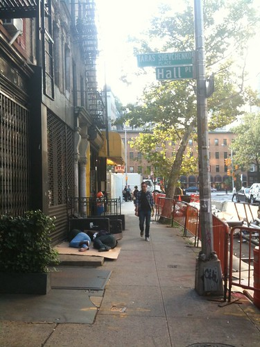 East Village scene