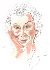 margaret atwood by Anne Smyth (bebbers.ca)