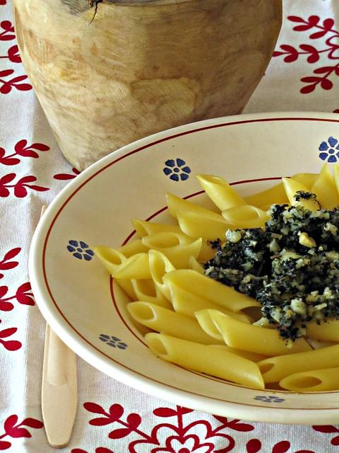 Penne al Pesto di Salvia Ananas (2)