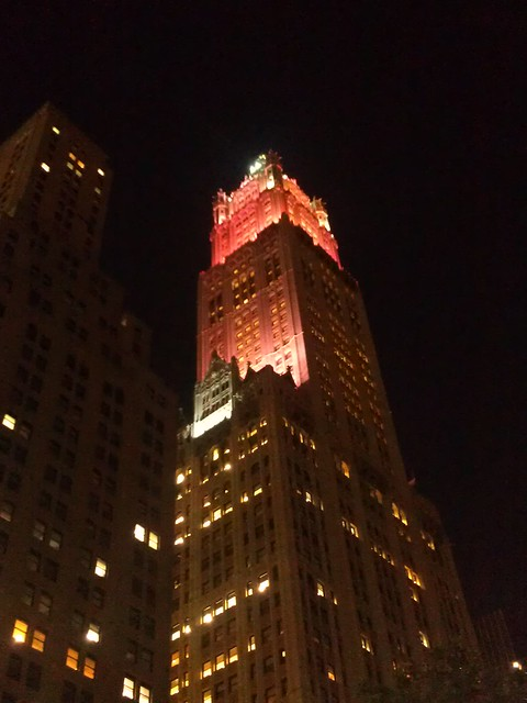 Best Woolworth shot I can get tonight